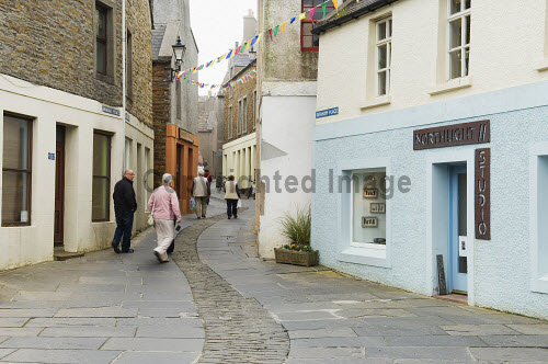 Northlight Studio on Graham Place, Victoria Street, Stromness, Mainland, Orkney..Picture Credit : Iain Sarjeant 2012,summer,retail,shop,shopping,shops,shopper,shoppers,art,arts,gallery,craft,crafts,island,islands,isle,isles,people,person,visitors,visitor,pedestrianised,scenic