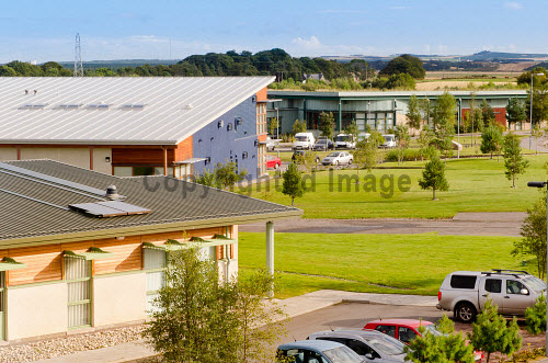 Enterprise Park Forres, Moray.  .Scenic photographs over and around the park...Picture Credit : Tim Winterburn / HIE 2012,building,Enterprise,Highlands,Islands,HIE,Park,Business,office,offices,incubator,innovation,development,sustainable,unit,units