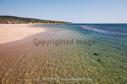 Golspie beach looking North , Sutherland, Highland..18th May 2010.Picture Credit: Angus Mackay / HIE summer,spring,sunny,beach,sandy,coastal,coast,scenic -