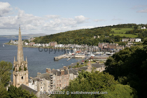 The Island of Bute, Argyll and Bute..Picture credit Iain Mclean / HIE 2010,scenic,scenics,isle,coast,sunny,summer,boat