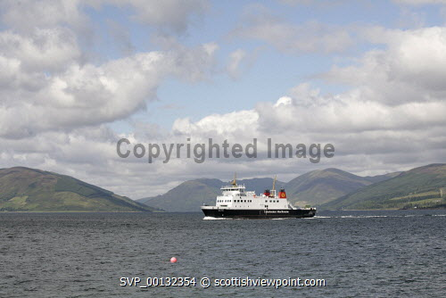 CalMac Ferry to Bute, Firth of Clyde...Picture credit Iain Mclean / HIE 2010,scenic,scenics,isle,coast,sunny,summer,cal mac,caledonian macbrayne
