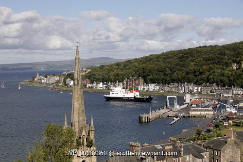 The Island of Bute, Argyll and Bute..CalMac Ferry, Rothesay..Picture credit Iain Mclean / HIE 2010,scenic,scenics,isle,coast,caledonian macbrayne,cal mac,sunny,summer,transport,boat,pier,harbour