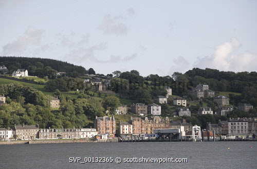 Rothesay, the Island of Bute, Argyll and Bute..Picture credit Iain Mclean / HIE 2010,scenic,scenics,isle,coast,sunny,summer,harbour,pier
