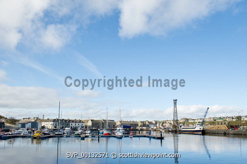 Wick harbour and marina, Caithness, Highland...Picture Credit: Angus Mackay / HIE 2011,sunny,autumn,scenic,highlands,islands,enterprise,water,coast,coastal,town,boat,boats,yacht,yachts,fishing,lobster,pots,creels,port,leisure