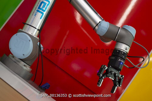 Automation and Robotics Showcase, An Lochran, Inverness Campus, Detail of equipment Picture Credit Gillian Frampton/HIE 2019,robotics,automatons,event,Automation,showcase,robots,arm,robotic,robot Gillian Frampton