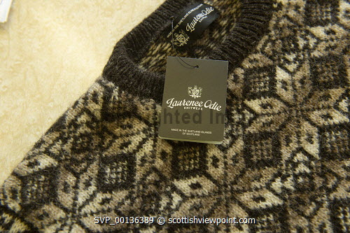 Laurence Odie Knitwear, Shetland Isles