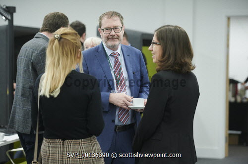 Nexus Launch, Solasta House. Inverness Campus David Oxley HIE at the event Picture Credit Ewen Weatherspoon /HIE  7/06/2019 2019,NEXUS,LAUNCH,people,chatting,chat,interact,interaction,mingle,mingling,networking,business,breakfast,opening