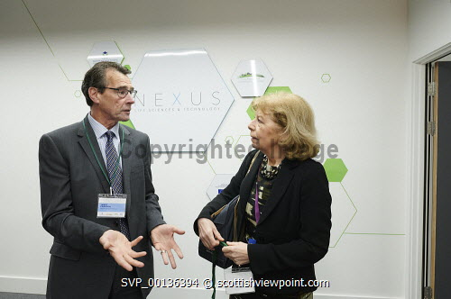 Nexus Launch, Solasta House. Inverness CampusJames Cameron HIE at the eventPicture Credit Ewen Weatherspoon /HIE7/06/2019 2019,NEXUS,LAUNCH,people,chatting,chat,interact,interaction,mingle,mingling,networking,business,breakfast,opening