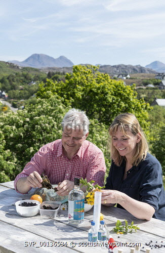 Badachro Gin , Wester Ross