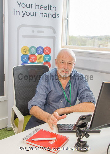 Alan White, Director of Interactive Health LTD.  Paul Campbell/HIE 2019 Paul Campbell/HIE