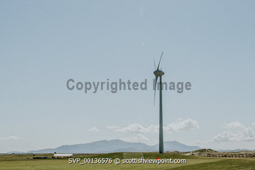 Wind Turbine   Benbecula, Outer HebridesPicture Credit : Jennifer Campbell/HIE 2019,Screen Machine,turbine,environment,green,energy,power,wind Clickybox Photography