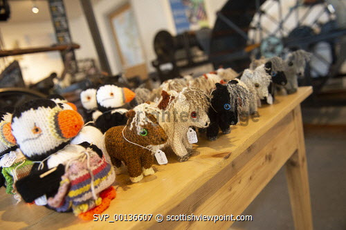 Hoswick Visitor Centre, Sandwick Shetland Isles Items for sale in the shopPicture Credit : Dave Donaldson /HIE 2019,Shetland,Hoswick Visitor Centre,visitor,visitors,interior,inside,indoors,island,islands,isle,isles,shop,shopping,crafts,craft Dave Donaldson