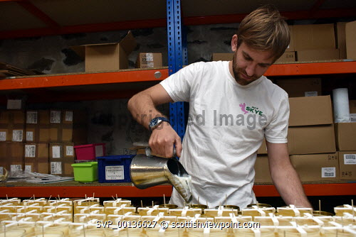 Isle of Skye Candle Company , Skye, James Robertson the founder of the companyPicture Credit Iain Smith /HIE 2019,skye,candles,home,fragrance,candle,process,product,production,people,staff,products Iain Smith