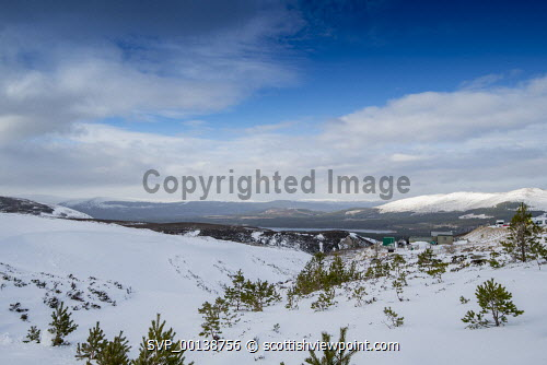 Cairngorm Mountain   Looking across to loch and mountains in the distance 2020,Mountain,cairngorm,ski,HIE2,activity,activities,skiing,skier,skiers,sport,snow,snowsport,snowsports,winter,cairngorms,mountains,hill,hills,national,park Gillian Frampton