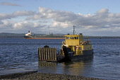 The Cromarty - Nigg car ferry (approaching the slipway) at Cromarty, Black Isle, Highland. PIC : D BARNES/SCOTTISH VIEWPOINT Tel: +44 (0) 131 622 7174   Fax: +44 (0) 131 622 7175 E-Mail : info@scottis... D BARNES/SCOTTISHVIEWPOINT sunny,coast,water,boat,boats,tanker,transport