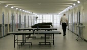 Interior of Monro Hall  at HM YOI  Polmont as Cathy Jamieson MSP Justice Minister opens  Monro Hall a fit for purpose facility bringing an end to slopping out  at Scottish Prison Service (SPS)  HM YOI... SCOTLAND,POLITICS