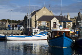 Fishing boats alongside quayside, Kirkwall harbour, Orkney  PIC: DOUG HOUGHTON/SCOTTISH VIEWPOINT  Tel: +44 (0) 131 622 7174  Fax: +44 (0) 131 622 7175  E-Mail : info@scottishviewpoint.com  This photo... DOUG HOUGHTON/SCOTTISH VIEWPOINT fish,community,coastal,local,fishery,industry,town,maritime,business,anchorage,anchored,port,seaport,haven,shelter,inlet,offshore,mooring,moorings,moored,berth,berthed,berthing,marina,marinas,pontoon,