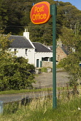 Rural post office signpost at Berriedale, Caithness, Highland. PIC: DOUG HOUGHTON/SCOTTISH VIEWPOINT  Tel: +44 (0) 131 622 7174  Fax: +44 (0) 131 622 7175  E-Mail : info@scottishviewpoint.com  This ph... DOUG HOUGHTON/SCOTTISH VIEWPOINT tradition,postal,service,communications,traditional,rural,country,countryside,isolation,isolated,community,communities,place,far,afar,dispatch,outdoors,communicate,remote,postage,deliver,message,lette