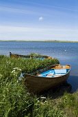 Anglers fishing boat on shore Loch of Harray . Mainland, Orkney PIC: DOUG HOUGHTON/SCOTTISH VIEWPOINT  Tel: +44 (0) 131 622 7174  Fax: +44 (0) 131 622 7175  E-Mail : info@scottishviewpoint.com  This p... DOUG HOUGHTON/SCOTTISH VIEWPOINT isolated,isolation,peaceful,peace,quiet,tranquil,clear,clean,air,scene,scenic,fresh,water,travel,tourism,holiday,vacation,destination,tourist,attraction,rural,countryside,country,side,life,countrylife