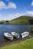 Anglers fishing boats on Castlehill reservoir, Glendevon. PERTHSHIRE  PIC: DOUG HOUGHTON/SCOTTISH VIEWPOINT  Tel: +44 (0) 131 622 7174  Fax: +44 (0) 131 622 7175  E-Mail : info@scottishviewpoint.com... DOUG HOUGHTON/SCOTTISH VIEWPOINT reservoir,artificial,lake,storage,drinking,water,storing,supply,supplies,manmade,man,made,reserve,store,stores,service,sky,loch,lakeside,lochside,side,fresh,shoreline,line,shores,bank,angling,boat,din