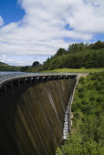 Water pouring down side of the dam at Castlehill reservoir, Glendevon, PERTHSHIRE PIC: DOUG HOUGHTON/SCOTTISH VIEWPOINT  Tel: +44 (0) 131 622 7174  Fax: +44 (0) 131 622 7175  E-Mail : info@scottishvie... DOUG HOUGHTON/SCOTTISH VIEWPOINT reservoir,artificial,lake,storage,water,storing,supply,supplies,manmade,man,made,reserve,store,stores,service,concrete,wall,loch,lakeside,lochside,side,fresh,drinking,shoreline,line,shores,bank,public