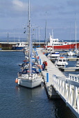 Kirkwall Marina, Mainland, Orkney.  PIC: DOUG HOUGHTON/SCOTTISH VIEWPOINT  Tel: +44 (0) 131 622 7174  Fax: +44 (0) 131 622 7175  E-Mail : info@scottishviewpoint.com  This photograph cannot be used wit... DOUG HOUGHTON/SCOTTISH VIEWPOINT dingy,pleasure,small,boat,boating,dingies,sea,vessel,vessels,crafts,anchorage,anchored,port,seaport,haven,shelter,offshore,marina,mooring,moorings,moored,berth,berthing,yacht,yachts,yachting,sail,sail