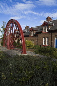 Traditional miner's terraced houses and pithead wheel at Newtongrange, Midlothian. PIC: DOUG HOUGHTON/SCOTTISH VIEWPOINT  Tel: +44 (0) 131 622 7174  Fax: +44 (0) 131 622 7175  E-Mail : info@scottishvi... DOUG HOUGHTON/SCOTTISH VIEWPOINT village,small,community,settlement,houses,rural,town,township,building,house,housing,home,homes,accommodation,inhabit,inhabiting,residence,residences,residential,lodgings,dwelling,place,dwellings,plac