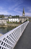 Langholm Bridge built by Thomas Telford the Father of Civil Engineering across the River Esk looking across to Langholm town centre Dumfries and Galloway Scotland UK PIC : ALLAN DEVLIN/SCOTTISH VIEWPO... ALLAN DEVLIN/SCOTTISH VIEWPOINT thomas,telford,civil,engineer,engineering,langholm,bridge,built,river,esk,town,church,spire,house,houses,centre,road,dumfries,and,galloway,scotland,scottish,uk,eskdale