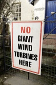 Anti wind farm sign No Giant Wind Turbines Here at the side of the road Galloway Scotland UK PIC : ALLAN DEVLIN/SCOTTISH VIEWPOINT  Tel: +44 (0) 131 622 7174  Fax: +44 (0) 131 622 7175  E-Mail : info@... ALLAN DEVLIN/SCOTTISH VIEWPOINT anti,wind,farm,windfarm,protest,protestors,sign,no,giant,turbines,here,power,energy,companies,big,business,people,rural,country,countryside,against,green,landowners,spoil,spoiling,electricity,planning