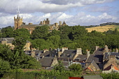 Linlithgow Palace and St Marys Church, West Lothian. CRAIG BROWN/SCOTTISH VIEWPOINT  Tel: +44 (0) 131 622 7174  Fax: +44 (0) 131 622 7175  E-Mail : info@scottishviewpoint.com  www.scottishviewpoint.co... CRAIG BROWN/SCOTTISH VIEWPOINT & Kings,Queens,ad,advert,advertising,alba,architectural,architecture,attraction,azure,birthplace,blue,britain,brochure,building,caledonia,castle,cb,church,cloud,cobalt,contrast,contrasty,cromwell,crown,