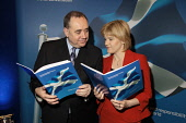 Scotland's First Minister Alex Salmon MSP, pictured at Napier University with Deputy First Minister Nicola Sturgeon launching A National Conversation, a white paper on the future of a referendum on co... C. MCPHERSON/SCOTTISH VIEWPOINT POLITICS