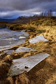 View over Lochan na h-Achlaise toward Black Mount. Rannoch Moor, Highlands, Scotland. Photographed in December. PIC: LEE BEEL/SCOTTISH VIEWPOINT Tel: +44 (0) 131 622 7174   Fax: +44 (0) 131 622 7175 E... LEE BEEL/SCOTTISH VIEWPOINT achlaise,beautiful,beauty,black,britain,british,calm,capped,clear,climb,climbing,coe,cold,country,countryside,covered,crisp,day,december,edge,empty,extreme,fresh,frosted,froze,frozen,great,glen,h-achl