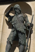 The statue of Alexander Selkirk. Selkirk's adventures were thought to be the inspiration for the novel Robinson Crusoe. Lower Largo, Fife. PIC: DOUG HOUGHTON/SCOTTISH VIEWPOINT Tel: +44 (0) 131 622 71... DOUG HOUGHTON/SCOTTISH VIEWPOINT castaway