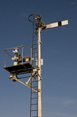 semaphore signal post,forres station,scotland PIC: Mark Hicken/SCOTTISH VIEWPOINT Tel: +44 (0) 131 622 7174   Fax: +44 (0) 131 622 7175 E-Mail : info@scottishviewpoint.com This photograph can not be u... Mark Hicken/SCOTTISH VIEWPOINT first scotrail,semaphore,signal,post,forres,scotland,traditional,home,railways