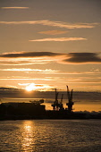 SUNSET OVER THE BAE SHIPYARD AT GOVAN ON THE RIVER CLYDE, GLASGOW. PIC: IAIN SMITH/SCOTTISH VIEWPOINT  Tel: +44 (0) 131 622 7174  Fax: +44 (0) 131 622 7175  E-Mail : info@scottishviewpoint.com  WEB: w... IAIN SMITH/SCOTTISH VIEWPOINT WATER,CRANES,SILHOUETTE,INDUSTRY,SHIP BUILDING,SHIPBUILDING,ATMOSPHERIC