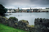 STORNOWAY HARBOUR FROM THE GROUNDS OF LEWS CASTLE IAIN MCLEAN