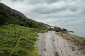 The  start of the route from Sannox to Lochranza, around the Cock of Arran. PIC: IAIN MCLEAN/SCOTTISH VIEWPOINT Tel: +44 (0) 131 622 7174   Fax: +44 (0) 131 622 7175 E-Mail : info@scottishviewpoint.co... Arran,WALKING,WALKERS,Sannox,Lochranza,IAIN MCLEAN,Cock of Arran