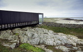 The island of Tiree, west of Mull in the Inner Hebrides. An Turas ferry shelter is an award winning feature of the island. PIC: IAIN MCLEAN/SCOTTISH VIEWPOINT Tel: +44 (0) 131 622 7174   Fax: +44 (0)... IAIN MCLEAN An Turas,travel,transport,Tiree,terminal,SCOTLAND,Inner Hebrides,IAIN MCLEAN,ferry shelter,commuter,commute