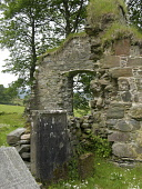 Located on the east side of the Kintyre Peninsula, overlooking the Kilbrannan Sound are the ruins of the small Cistercian Abbey of Saddell. Founded in 1160 by the Somerled, the warrior King, whose des... SCOTLAND,RUIN,HISTORY,HISTORIC,HERITAGE,RELIGION,RELIGIOUS,CHRISTIANITY,GENERIC