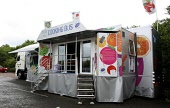 Launch of the cooking and healthy eating Cooking Bus, with children from Edinburgh's Royal High Primary School in a supermarket car park in Edinburgh as Scotland's first ever Cooking Bus is launched b... ALLAN MILLIGAN/SCOTTISHVIEWPOINT POLITICS