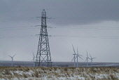 Causeymire Wind Farm ELECTRICITY CAITHNESS Power lines wintery moorland Wind Turbine PIC: DOUG HOUGHTON/SCOTTISH VIEWPOINT Tel: +44 (0) 131 622 7174   Fax: +44 (0) 131 622 7175 E-Mail : info@scottishv... D HOUGHTON/SCOTTISHVIEWPOINT caithness,electricity,causeymire,wind,farm,pylon,turbines,windfarm,windturbines,turbine,rotating,triple,blade,tower,electric,power,line,electrical,transmission,powerlines,high,tension,cables,propeller