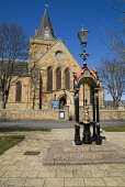 Dornoch Cathedral DORNOCH SUTHERLAND Victorian drinking water fountain and cathedral building PIC: DOUG HOUGHTON/SCOTTISH VIEWPOINT Tel: +44 (0) 131 622 7174   Fax: +44 (0) 131 622 7175 E-Mail : info@... D HOUGHTON/SCOTTISHVIEWPOINT sutherland,dornoch,water,fountain,victorian,town,north,highlands,scotland,scottish,township,feature,main,square,centre,center,heritage,traditional,cultural,building,architectural,built,tourist,visitor