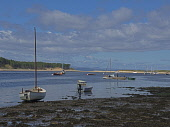 Findhorn Bay, Morayshire, Forres, Inverness, Highland Region, Scotland, August 2007 PIC: D. BARNES/SCOTTISH VIEWPOINT Tel: +44 (0) 131 622 7174   Fax: +44 (0) 131 622 7175 E-Mail : info@scottishviewpo... D. BARNES/SCOTTISH VIEWPOINT boating,landscape,Seascape,Moray,Firth,Nature,Reserve,Coast,Yachts,boats,Beach,Highland,Region,summer,sunny
