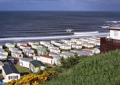 Pease Bay Holiday Home Park on the Berwickshire coastline, Scottish Borders.  PIC: A. BENNETTS/SCOTTISH VIEWPOINT Tel: +44 (0) 131 622 7174   Fax: +44 (0) 131 622 7175 E-Mail : info@scottishviewpoint.... A. BENNETTS/SCOTTISH VIEWPOINT Beach,Caravan,Caravan Site,Coast,Mobile Home,Sea,Seascape,sunny,caravans,Places East Lothian,Places North Berwick,Places Lowlands,Places Scotland,Other Keywords East Lothian,Other Keywords Viewpoint,T