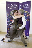 Tango dancers at launch of the region wide 2008 Gaelforce art and entertainment festival in Dumfries and Galloway Scotland UK PIC: ALLAN DEVLIN/SCOTTISH VIEWPOINT Tel: +44 (0) 131 622 7174  Fax: +44 (... - gale force,galeforce,art,arts,music,dance,entertain,entertainment,festival,autumn,dumfries,and,galloway,scotland,uk,musician,violin,sax,saxaphone,tango,dancers,male,female