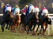 Thundering hooves as the horses round the top bend at Musselburgh Race Course, East Lothian. Pic: Andy Bennetts/Scottish Viewpoint Tel: +44 (0) 131 622 7174 Fax: +44 (0) 131 622 7175 E-mail: info@scot... PUBLIC, NMR Betting,East Lothian,Horse,Horse Racing,Jockey,Musselburgh,Musselburgh Race Course,Race,Racing,Scotland,Sport,Places|East Lothian,Places|North Berwick,Places|Lowlands,Places|Scotland,Other Keywords|Vi
