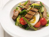 A SERVING OF TUNA NICOISE. PIC: DOUGLAS JONES/SCOTTISH VIEWPOINT  Tel: +44 (0) 131 622 7174  Fax: +44 (0) 131 622 7175  E-Mail: info@scottishviewpoint.com  Web: www.scottishviewpoint.com  This photogr... DOUGLAS JONES/SCOTTISH VIEWPOINT FOOD,EATING,RESTAURANT,DINING,PLATE,FISH,SALAD