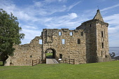 St Andrews, Castle,  Fife,  Scotland, August,  2008 PIC: D BARNES/SCOTTISH VIEWPOINT  Tel: +44 (0) 131 622 7174  Fax: +44 (0) 131 622 7175  E-Mail : info@scottishviewpoint.com  This photograph cannot... Public, NMR St Andrews,ancient,Castle,sunny,coast,University,Golf,Tranquil,Scottish,landscape,famed,renowned,tradition,famous,UK,United Kingdom,Travel,heritage,tourist,Attraction,Tourism,Visitor,Scotland,holiday,