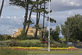 St Andrews, Old Course Hotel,  Fife,  Scotland, August,  2008 PIC: D BARNES/SCOTTISH VIEWPOINT  Tel: +44 (0) 131 622 7174  Fax: +44 (0) 131 622 7175  E-Mail : info@scottishviewpoint.com  This photogra... Public, NMR St Andrews,Old,Golf,Course,Hotel,Royal,Garden,flowers,coast,Scottish,landscape,famed,renowned,tradition,famous,UK,United Kingdom,Travel,heritage,tourist,Attraction,Tourism,Visitor,Scotland,holiday,vac