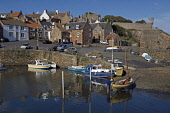 Crail Harbour, Neuk of Fife,  Fife,  Scotland, August,  2008 PIC: D BARNES/SCOTTISH VIEWPOINT  Tel: +44 (0) 131 622 7174  Fax: +44 (0) 131 622 7175  E-Mail : info@scottishviewpoint.com  This photograp... Public, NMR Crail,Harbour,Neuk,of,Fife,Boats,sunny,reflections,Coast,Coastal,quaint,Tranquil,Scottish,landscape,famed,renowned,tradition,famous,UK,United Kingdom,Travel,heritage,tourist,Attraction,Tourism,Visitor
